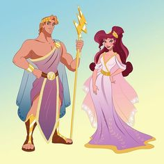 Hercules & Meg from our new Reign Collection aka The Exclusive by my amazing friend Disney Art, Disney Pixar, Animation Disney, Disney Princess Art, Disney Memes, Disney And Dreamworks, Disney Cartoons, Disney Magic, Disney Characters