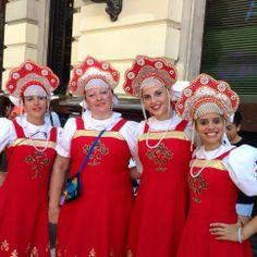"""Evento """"Buenos Aires celebra"""", Nov 23 RUSIA En Av. de Mayo y Bolivar."""