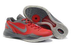 Nike Zoom Hyperdunk 2011 LWPE Red Grey Silver 487637 600 Hyper Shoes 2013