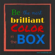 Come run and be brilliant www.runandsmile.com