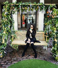 Bairro Covent Garden em Londres