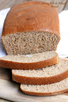 Honey Whole Wheat Bread recipe you can make with or without a standard mixer! Homemade bread is SO easy!