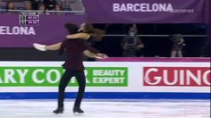 They're brother and sister (so not really too romantic) but I think this dance perfectly describes the whole romantic point of the song Fix You. It's beautiful. Makes me want to go back into skating.