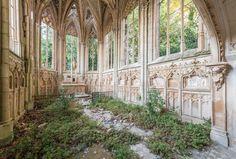 """Romain Veillon passou os últimos quatro anos fazendo cliques misteriosos de lugares abandonados para o projeto """"Pergunte à Poeira"""" - Foto: Romain Veillon"""