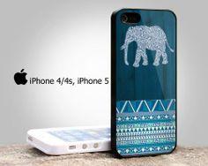 #aztec #elephant #blue #wood #iphonecase