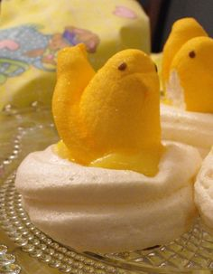 I love Peeps and my husband loves lemon.  We might just have to try this for Easter this year!