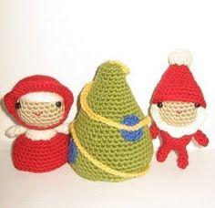 2000 Free Amigurumi Patterns: Santa Claus