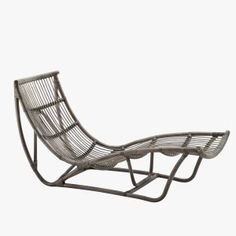 The Michelangelo rattan chaise lounge is crafted for indulgent relaxation. The daybed is handcrafted from natural rattan and built to last.
