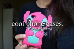 Cool phone cases. ♡ #JustGirlyThings