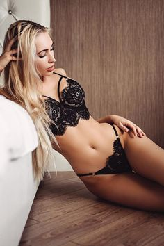 Tempting Wedding Night Lingerie ❤ See more: http://www.weddingforward.com/wedding-night-lingerie/ #weddings
