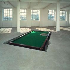 """Richard Wilson, WATER TABLE MATT""""S GALLERY, LONDON, 1994"""