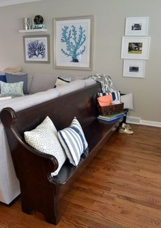 Bridget & Matt's Coastal Style in the Midwest House Call | Apartment Therapy