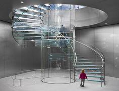 La escalera servia, en sentido figurado, para ascender a la altura divina, como conexión entre el cielo y la tierra.