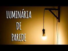 Como fazer uma Luminária Industrial estilo Pinterest - DIY (Reformando meu quarto) - YouTube