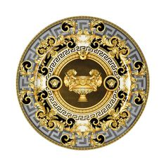 Rosenthal Meets Versace Prestige Gala Service Plate