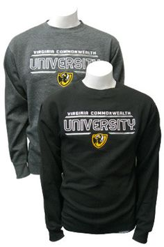 Embroidered VCU Crew Neck Sweatshirt