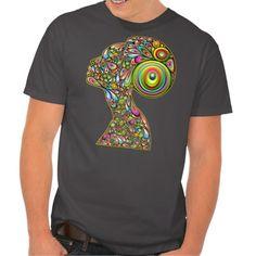 #Woman #Psychedelic #Portrait #Tshirt | Sold! Thank You! :)  #Design by #BluedarkArt at #Zazzle (clipped to polyvore.com) https://bluedarkart.wordpress.com/2015/10/10/woman-psychedelic-portrait-t-shirt-sold-thank-you/