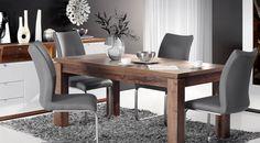 Stiai ca la Detolit Company gasesti o gama de mobilier nou de calitate premium pentru ca tu sa te bucuri de confort si eleganta la tine acasa?  Vino in showroom pe str. Amurgului nr 1 in Timisoara sa vezi gama intreaga de mobilier. Ikea Kitchen, Dining Table, Modern, Furniture, Home Decor, House Decorations, Oak Tree, Ikea Galley Kitchen, Homemade Home Decor
