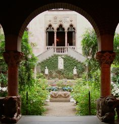 Isabella Stewart Gardner Museum, Boston. In my opinion, the most amazing art museum in New England.