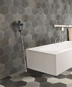 Cumberland Stone Riabita Hexagon Porcelain Tiles.