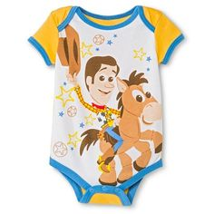 Disney Toy Story Newborn Bodysuit - Yellow