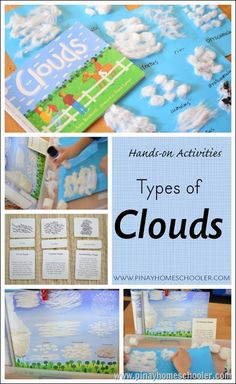 Types of Clouds FREE printables and ideas