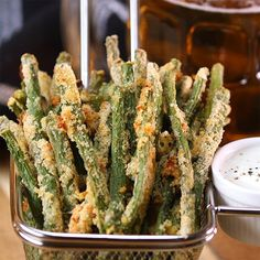 Crispy Baked Green Bean Fries Are French Fries' New Healthy Doppelganger - Shared