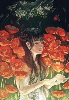 Enchanting Illustrations and Animated GIFs by Sparrows | The Dancing Rest http://thedancingrest.com/2016/03/18/enchanting-illustrations-and-animated-gifs-by-sparrows/