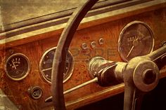 Picture of Old postcard with driver stock photo, images and stock photography. Old Postcards, Retro Cars, Motor Car, Door Handles, Antiques, Vintage, Door Knobs, Antiquities, Antique