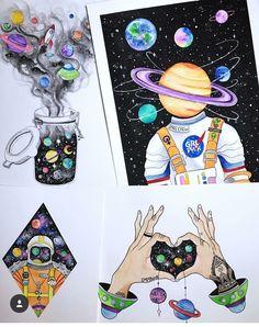 hippie painting ideas 642185228101735466 - Dibujos Dibujos Source by adamvisha Space Drawings, Colorful Drawings, Cool Drawings, Cute Canvas Paintings, Art Paintings, Canvas Art, Arte Sketchbook, Galaxy Painting, Doodle Art