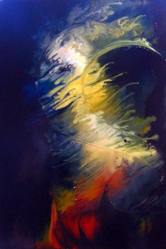 Orchestral by lucid-dion   acrylic inks on board.