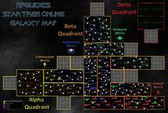 Delta Rising galaxy map for Star Trek Online  Star Trek Online