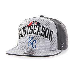 ff2631e9888484 Kansas City Royals 47 Brand 2015 Postseason Playoffs Official On-Field Hat  Cap Cardinals Hat