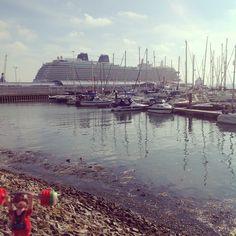 Brittania 2015 Southampton in the sunshine #wanderingweightlifter #bigboats