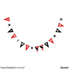 Fancy Trinidad Bunting Flags