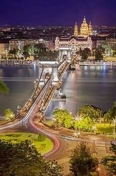 View of Pest from Buda hill
