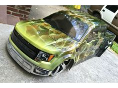 Images Of Cars Painted With Flames True Fire Flames On RC Car - Custom vinyl decals for rc carsimages of cars painted with flames true fire flames on rc car