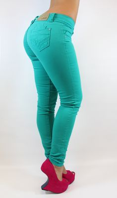 Maripily Skinny Jeans  Shop Now > www.pompisstore.com