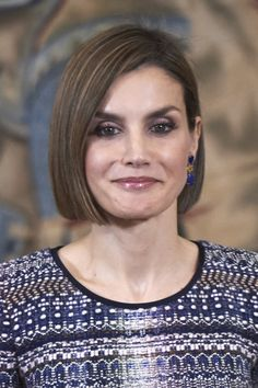 Queen Letizia of Spain Photos: Spanish Royals Attend Audiences at Zarzuela Palace