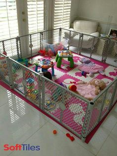 i love this to keep baby in one place while u do stuff around the house, but where would i store this to put away????