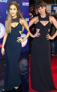 Ariana Grande, Where Have We Seen Your 2014 MTV EMAs Look Before?  Ariana Grande, Alicia Keys