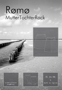 Schnittmuster,+MutterTochterRock++++RÖMÖ++von+schnittreif+auf+DaWanda.com