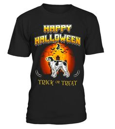# Borzoi Dog Happy Halloween T-Shirt . Special Offer, not available in shops Comes in a variety of styles and colours Buy yours now before it is too late!