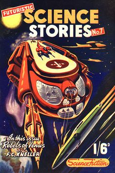 Futuristic Science Stories #7 by Ron Turner.