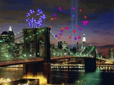 gif,animated,new year,fireworks,new york