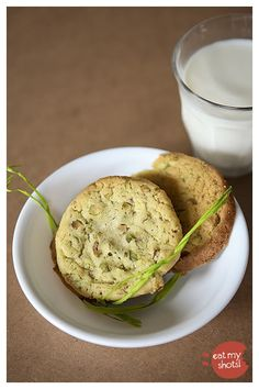 Pistachio & Lime Cookies