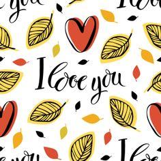 I Love You | Lettering Shop #patterns