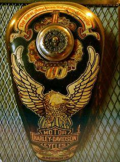 Detailed Harley-Davidson Gas Tank