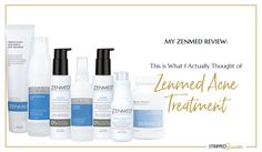 Zenmed Acne Treatment -- an all natural, eco friendly acne treatment line you're going to love! #acneproducts #zenmed