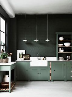 Our Top Color Palette Trends Spring Sage Green Home Decor - Green and grey kitchen ideas